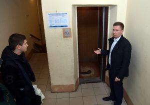 Александр Закускин провел встречу с жителями. фото: пресс-служба управы Мещанского района