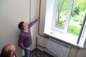 Александр Закускин осмотрел ход работ на улице Дурова. Фото: пресс-служба управы Мещанского района