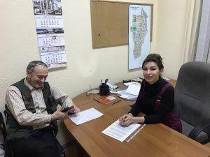 Анна Данилова встретилась с жителями. Фото: предоставлено Анной Даниловой