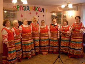 Праздничный концерт прошел в районе. Фото: архив, «Вечерняя Москва»