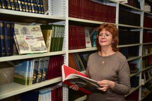 Книжную выставку откроют в библиотеке для слепых. Фото: Антон Гердо, «Вечерняя Москва»