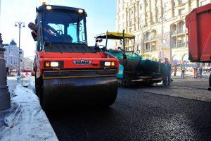Ремонт дороги на проспекте Мира близится к завершению. Фото: Пелагия Замятина, «Вечерняя Москва»