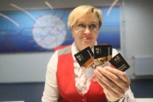 Проездной билет с эксклюзивным дизайном запустят в продажу в кассах Кольцевой линии. Фото: Антон Гердо, «Вечерняя Москва»