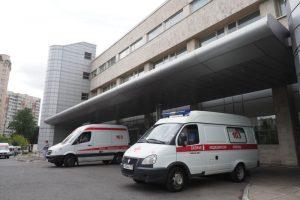 Ограждение вертолетной площадки отремонтировали в «Склифе». Фото: Антон Гердо, «Вечерняя Москва»