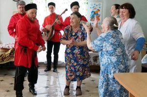 Концерт патриотической песни состоится в центре социального обслуживания. Фото: Сергей Шахиджанян, «Вечерняя Москва»