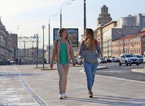 Капитальный ремонт сделают в доме на Малой Сухаревской площади. Фото: Антон Гердо, «Вечерняя Москва»