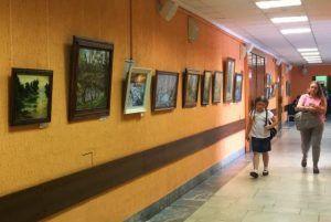 Выставка акварели открылась в «Аптекарском огороде». Фото: Анна Быкова