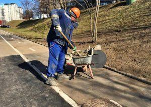 Ямочный ремонт дорог провели в районе. Фото: Анна Быкова