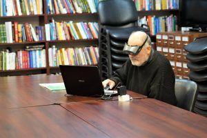 Новую книжно-иллюстративную выставку откроют в Государственной библиотеке для слепых. Фото: Денис Кондратьев
