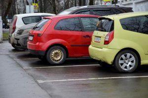 Дептранс проверит штрафы за парковку из-за сбоев в работе Росреестра. Фото: Анна Быкова