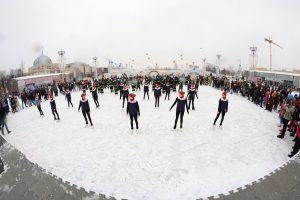 Флешмоб столичных огнеборцев «Растопим лед вместе» приобретает статус Всероссийского