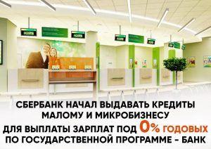 Владельцы малого бизнеса смогут взять беспроцентный кредит для зарплаты сотрудникам