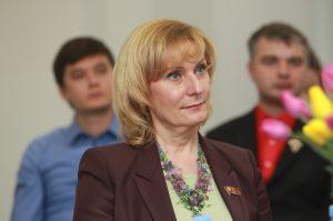 Депутат Парламента Москвы, председатель комитета Совета Федерации по социальной политике Инна Святенко.