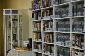 Книжно-иллюстративную выставку скоро закроют в Государственной библиотеке для слепых. Фото: Анна Быкова