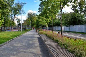 Жители района смогут записаться на занятие по ушу в Фестивальном парке. Фото: Анна Быкова