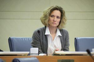 Член комиссии Московской городской Думы по безопасности, спорту и молодежной политики Мария Киселева