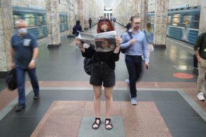 Поезд Росатома полгода будет курсировать по Кольцевой линии столичной подземки. Фото: архив, «Вечерняя Москва»
