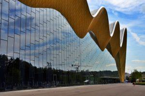 Дворец гимнастики в Лужниках стал лучшим спортивным объектом по версии MIPIM Awards. Фото: Анна Быкова