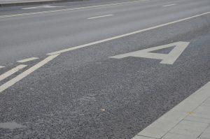 Дорожное полотно привели в порядок в районе. Фото: Анна Быкова