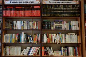 Книжную выставку «Основной закон государства» скоро закроют в Государственной библиотеки для слепых. Фото: Анна Быкова