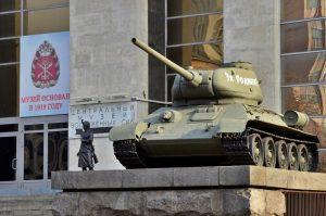 Сотрудники Музея вооруженных сил посетили войсковую часть. Фото: Анна Быкова