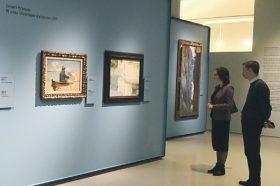 Эксперты из Армянского музея рассказали о династии революционеров живописи Армении. Фото: Владимир Новиков, «Вечерняя Москва»
