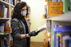 Специалисты библиотеки для слепых провели методическое занятие. Фото: Пелагия Замятина, «Вечерняя Москва»