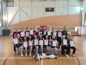 Две команды школы №2107 заняли первые места в «Рождественском турнире». Фото предоставили в школе №2107
