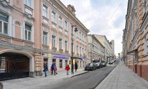 Здание XIX века отреставрируют в Нижнем Кисельном переулке. Фото: сайт мэра Москвы