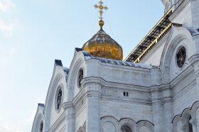 Москвичам рассказали о реставрации храма Знамения Иконы Божией Матери за Петровскими воротами. Фото: Анна Быкова