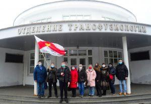 Молодежная палата района приняла участие в благотворительной акции. Фото: предоставили в Молодежной палате района