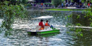 Лодочные станции возобновили работу в парках столицы. Фото: сайт мэра Москвы