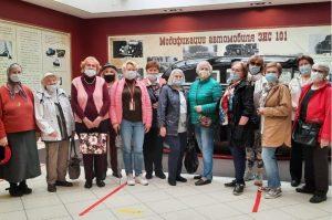 Участники проекта «Московское долголетие» районного центра соцобслуживания посетили музей завода имени Лихачева. Фото с сайта районного ТЦСО